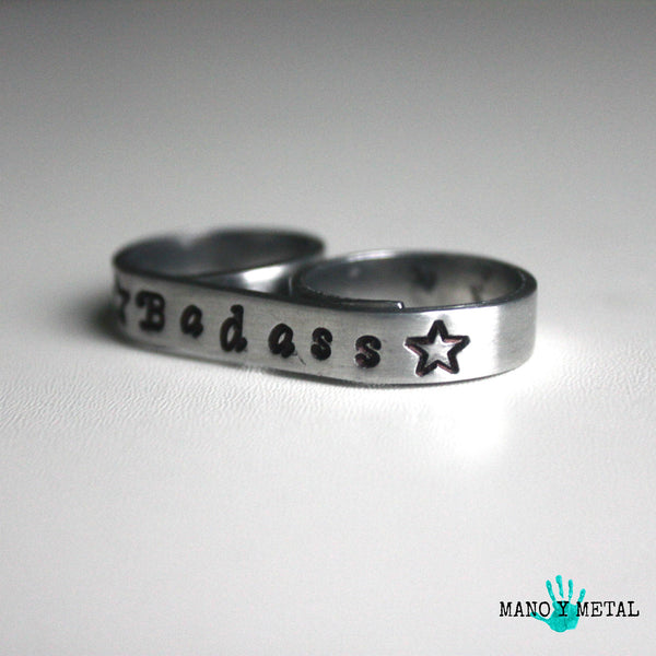Badass {bar double ring}