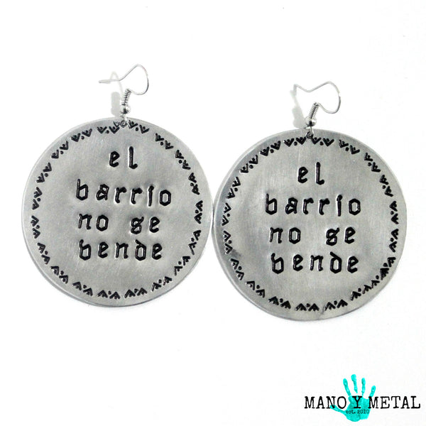 el barrio no se vende★ {Big O' Earrings}