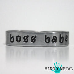 boss babe★ {double-finger ring}