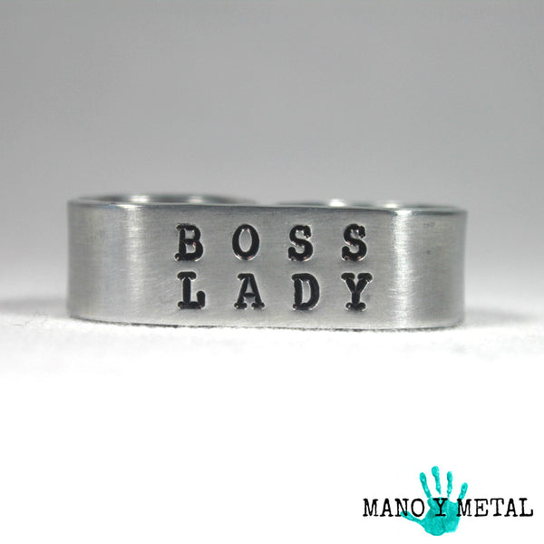 Boss Lady {Double-Finger Ring}