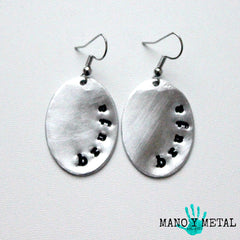 bruja::: {Oval Earrings}