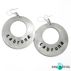 cabrona★ {Big O' Earrings}