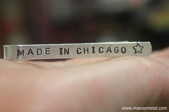 Made in Chicago★// Tie Clip