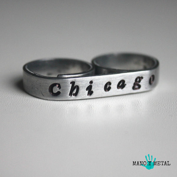 Chicago {bar double ring}