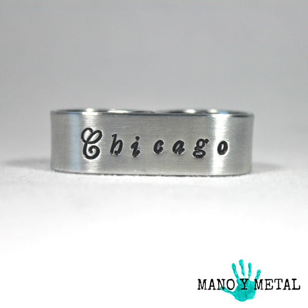 Chicago {Double-Finger Ring}