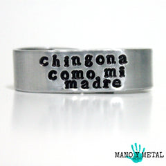 chingona como mi madre★ {double-finger ring}