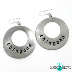 chingona★ {Big O' Earrings}