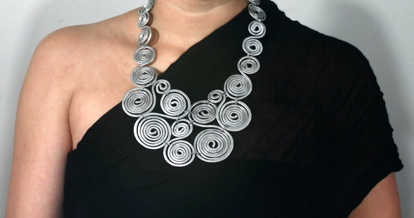 Equinox Necklace & Earring Set {no.1}: Wind Goddess