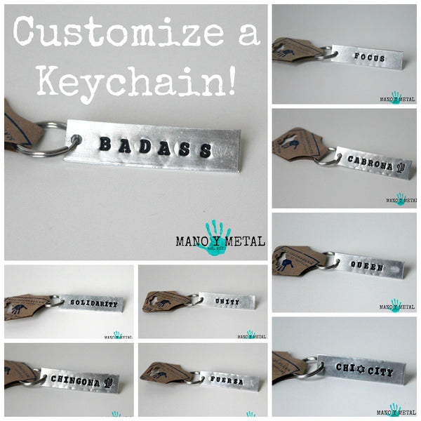 Customize a Keychain:::