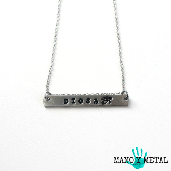 DIOSA {bar necklace}