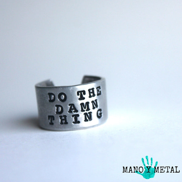 Do The Damn Thing {Ring}