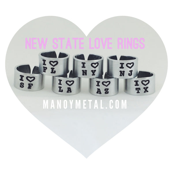 State Ring: I ♥ {insert your state}