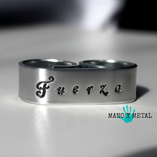 Fuerza {Double-Finger Ring}