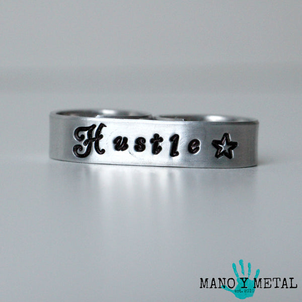 Hustle★{double-finger ring}