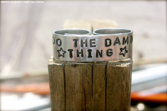 Do the Damn Thing {Double-Finger Ring}