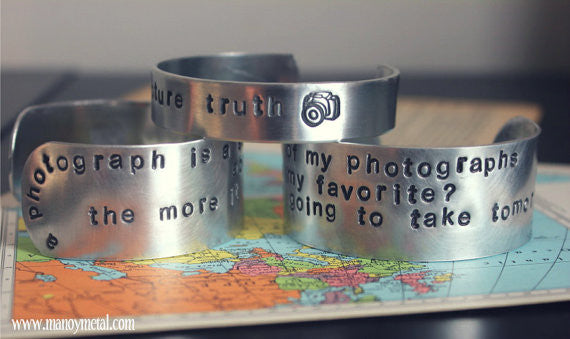 Which of my photographs is my favorite? the one i'm going to take tomorrow. {cuff bracelet}