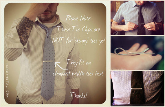 I DO WHAT I WANT {Tie Clip}