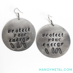protect your energy★ {Big O' Circle Earrings}