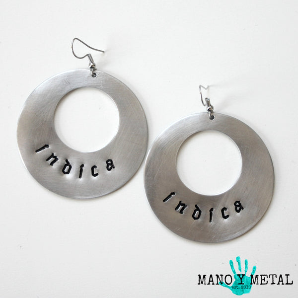 indica★ {Big O' Earrings}