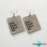 let that shit go::: {square earrings}
