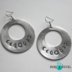 moon phases★ {Big O' Earrings}