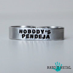 Nobody's Pendeja★{double-finger ring}
