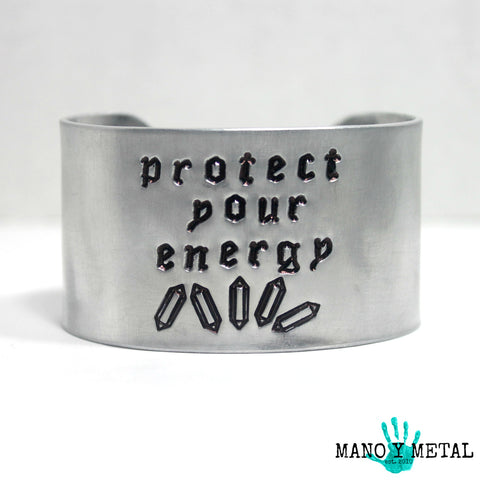 protect your energy::: {wide cuff bracelet}