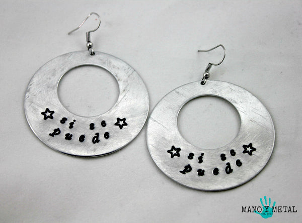 si se puede★ {Big O' Earrings}