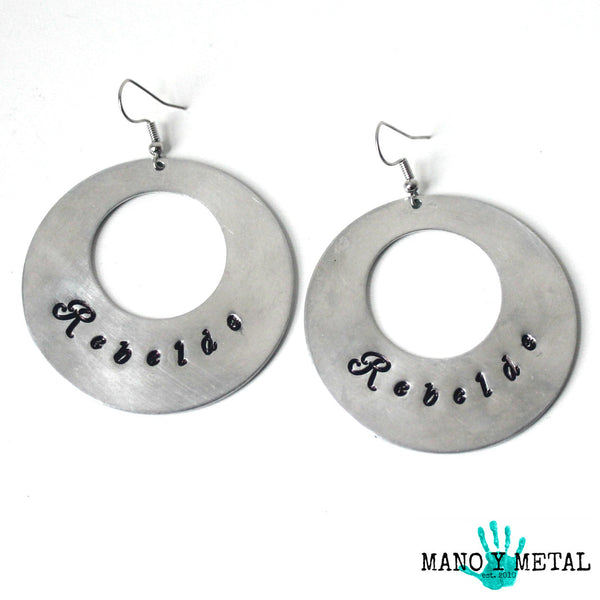 Rebelde★ {Big O' Earrings}