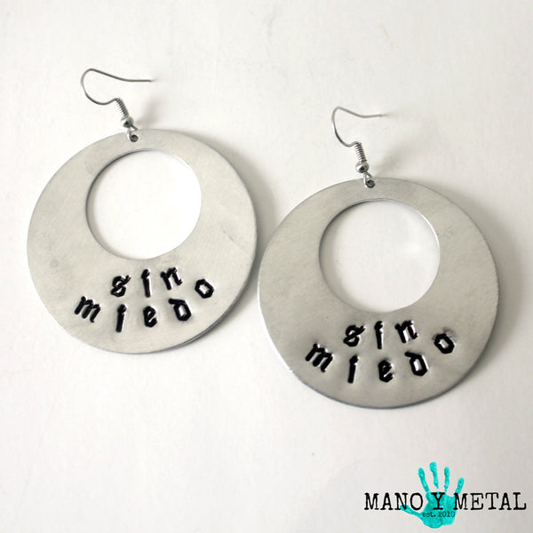 sin miedo★ {Big O' Earrings}