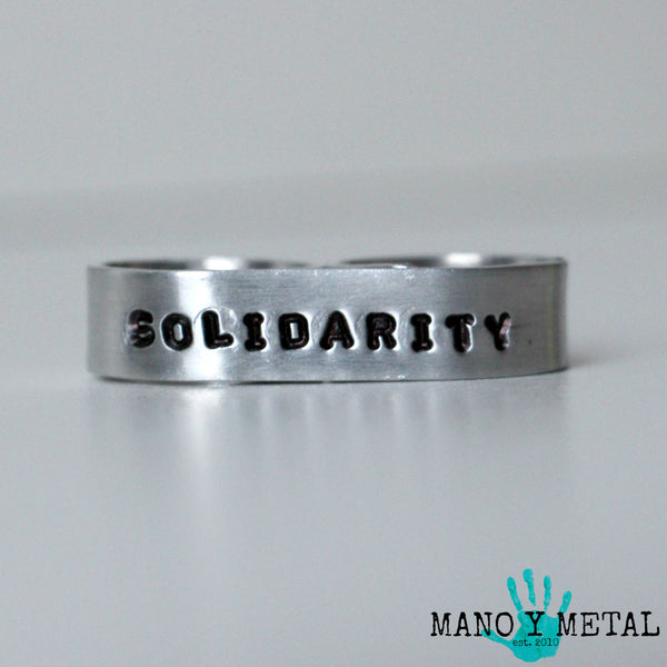 Solidarity★{double-finger ring}