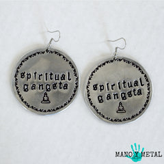 spiritual gangsta★ {Big O' Earrings}
