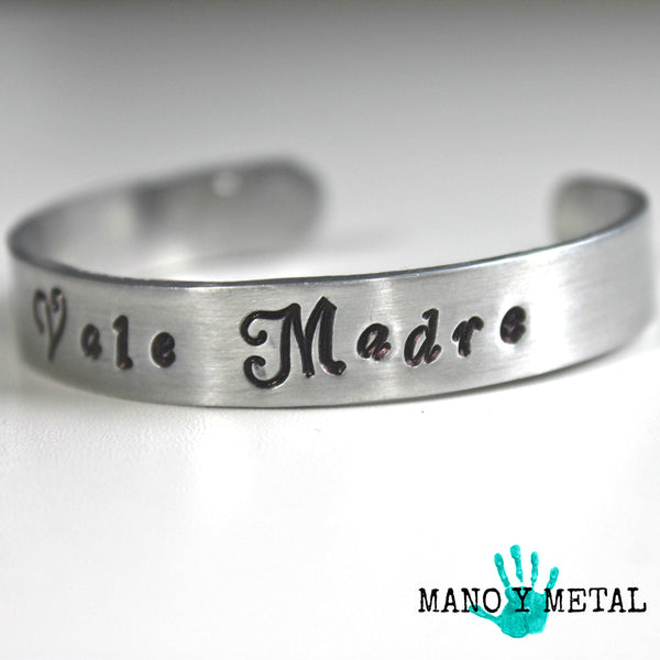 Me Vale Madre::: {thin cuff bracelet}