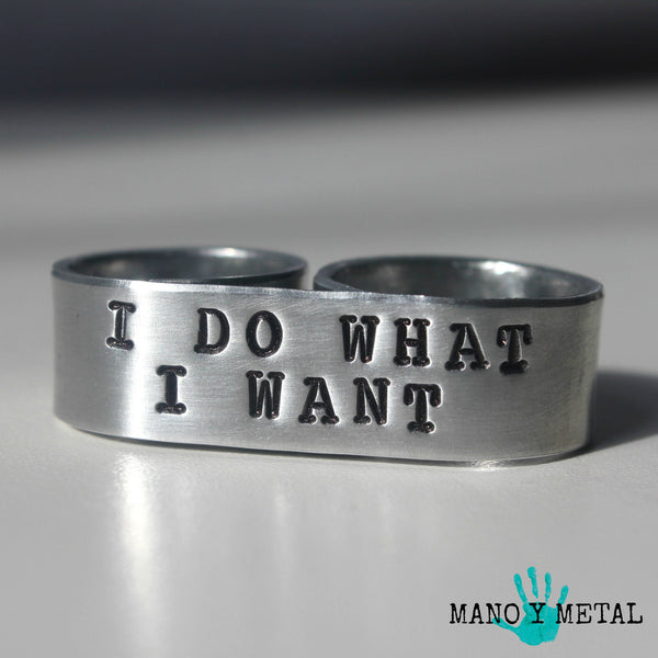 I do what I want {Double-Finger Ring}