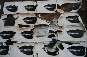 FRAUD Yannick - N. Y. Lips on the wall(Photographie) -