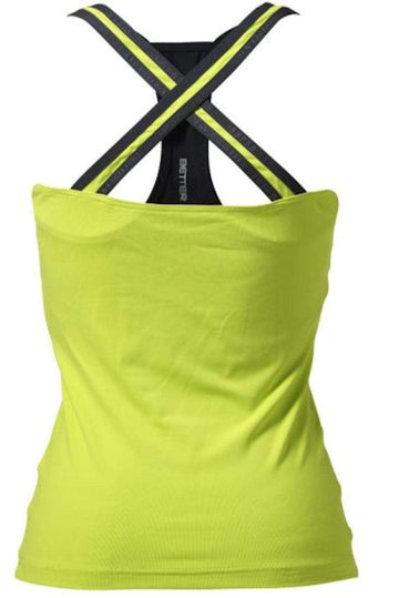 Better Bodies Support 2-Layer Top Lime (Code: 20off)