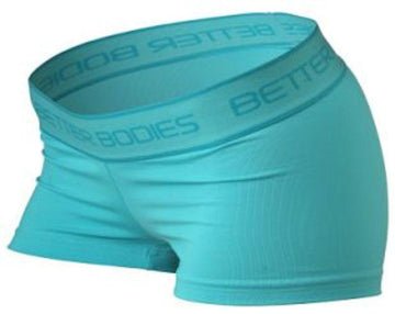 Better Bodies Fitness Hot Pant Aqua (Discontinue Limited Supply)(Code: 20off)