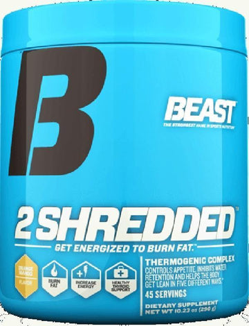 Beast Sports Nutrition 2 Shredded Powder (Discontinue Limited Supply)