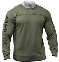 GASP Men Clothing GASP Men's Thermal Longsleeves Wash Green