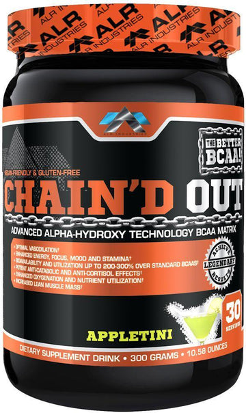 ALRI (ALR Industries) Chain'D Out 30 serving (code: 10off)