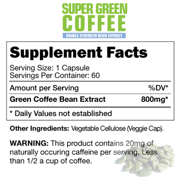 BetaLabs Super Green Coffee 60 caps. (code: 50off)