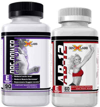 GenXLabs Pre-Workout GenXLabs AB-12 and Pre Power stack