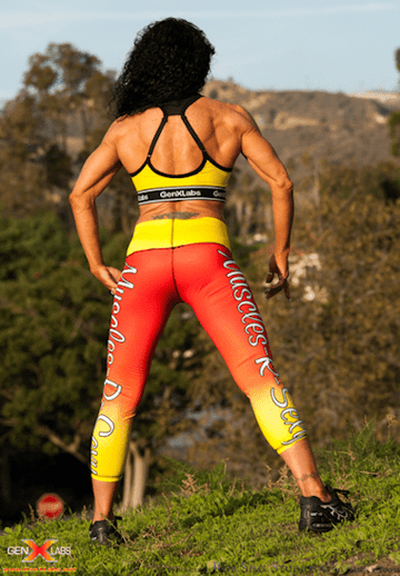 GenXlabs Active Print Legging Muscles-R-Sexy (code: 50off)