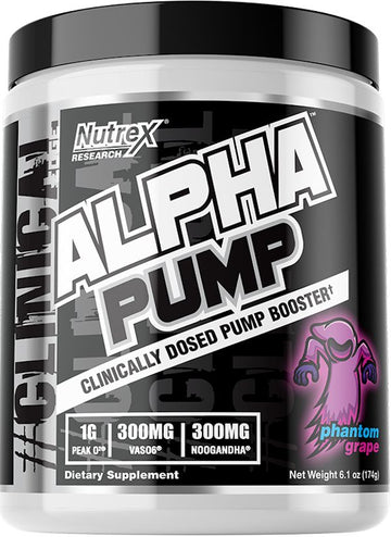 Nutrex Alpha Pump 20 servings