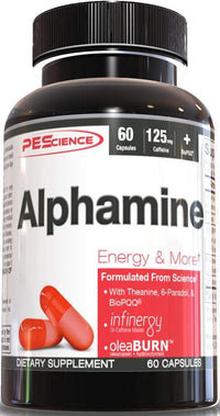 PEScience Weight Management PEScience Alphamine 60 Caps