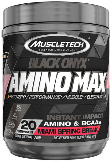 Muscletech Black Onyx Amino Max 20 servings