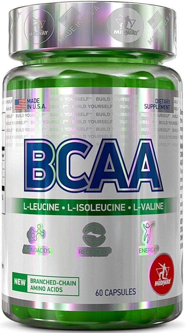 Midway Labs BCAA BCAA Midway Labs 60 caps