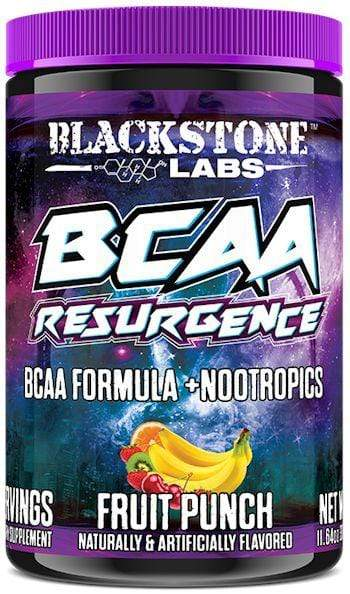 Blackstone Labs BCAA FRUIT PUNCH BCAA Resurgence Blackstone Labs