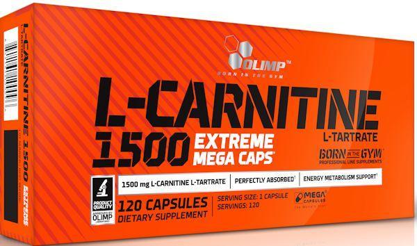 Olimp Labs Carnitine Olimp Labs L-Carnitine 1500 Extreme Mega Caps