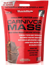 MuscleMeds Protein Chocolate MuscleMeds Carnivor Mass Beef Protein 10 Lbs